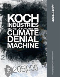 Koch Industries climate denial machine