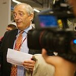 """Lord"" Monckton - seen here tripping over his own ego"
