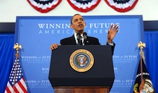 President Obama calls for one-third reduction in oil imports by 2025