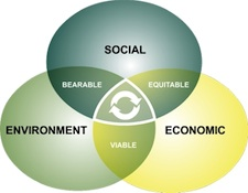 Sustainability is only achieved through collaboration and cooperation