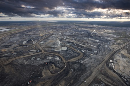 The Tar Sands of Alberta represents one of the most environmentally devastating forms of oil extraction ever devised.