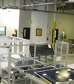 Solar panel prices are dropping fast, making for a thin profit margin for manufacturers