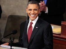 Obama pushes an agenda of clean energy at his State of the Union Address