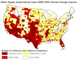 EarthTalk: Climate Change and Water Supplies in the U.S.