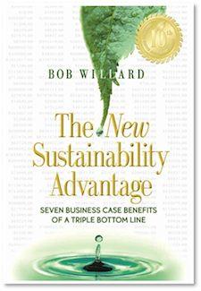 "Bob Willard's revised book ""The New Sustainability Advantage"""