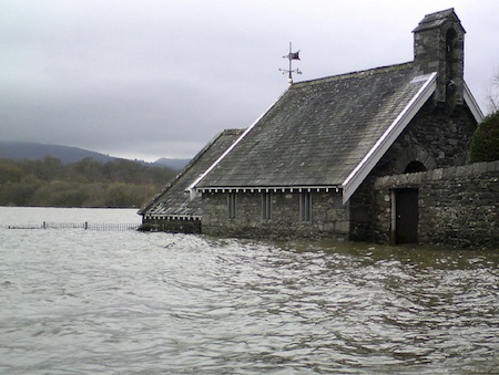 Areas already prone to flooding are at increasing risk due to global warming