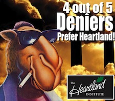 4 out of 5 climate deniers prefer Heartland
