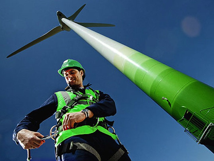 Electricians are in demand in the new green economy
