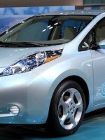 The Nissan Leaf EV