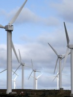 Wind energy production tax credit extended one year as part of fiscal cliff deal