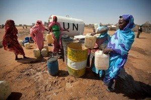 water security is the focus of the UN's agenda for post-2015 development