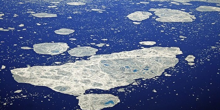 Arctic oceans acidification is increasing rapidly due to several factors including declining sea ice and freshwater flows.