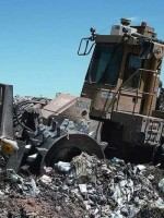 More than 3000 operating landfills in the US process tons of waste - much of which is hazardous and/or could be recycled