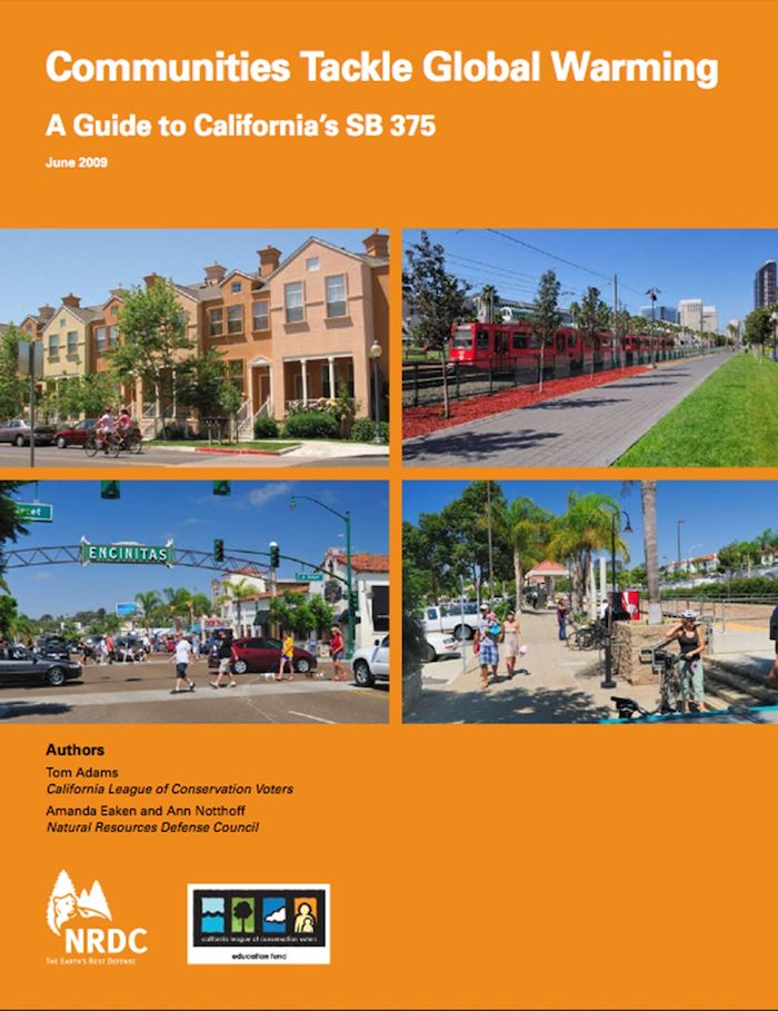 EarthTalk: Implementation of California's Sustainable Communities and Climate Protection Law