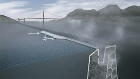 Folding Water is an example of an innovative approach to managing sea level rise in San Francisco Bay