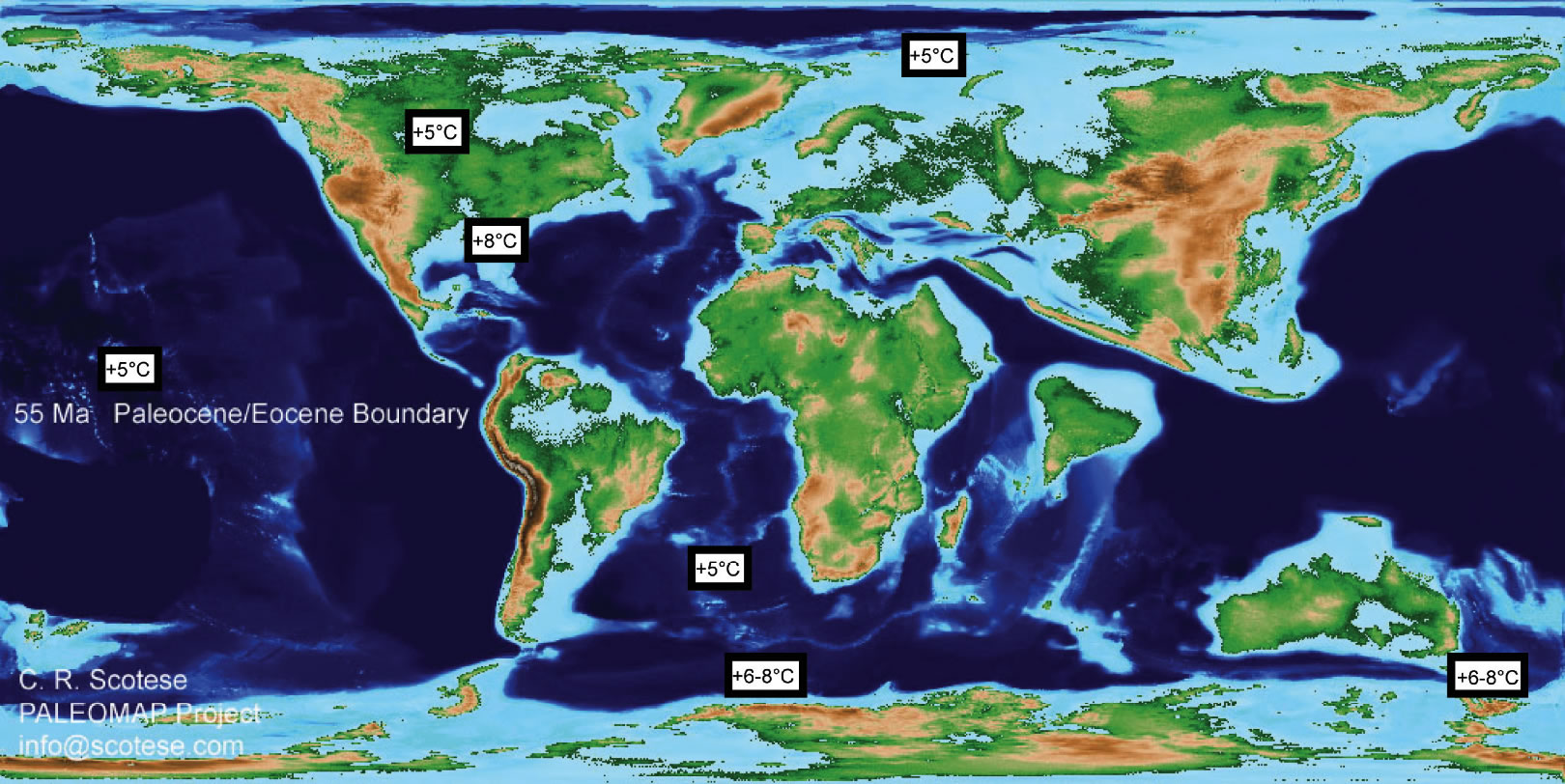 New Research Reveals Climate Warming 55 MYA was Geologically Instantaneous