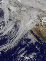The jet stream powers weather, effects climate