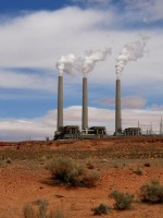 Generating station at the Four Corners Power Plant