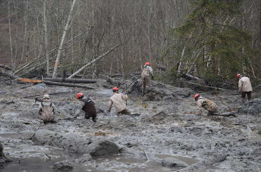 Mudslides and climate change. Does the recent tragedy in Washington state portend to much such devastating mudslides in a changing climate?