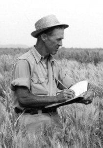 Norman Borlaug - one of many inspirational figures of the environmental movement