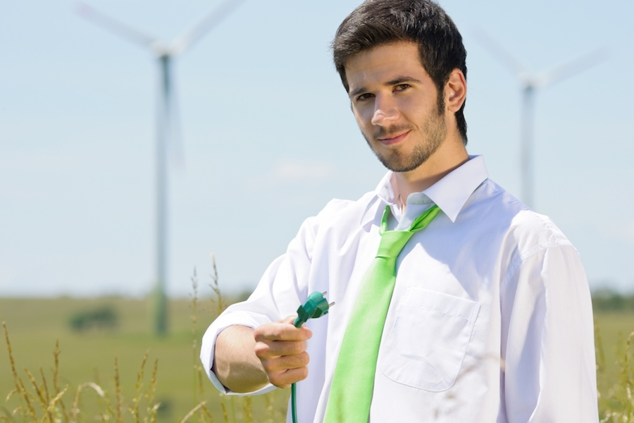 Small businesses are driving economic growth in part through adoption of green energy