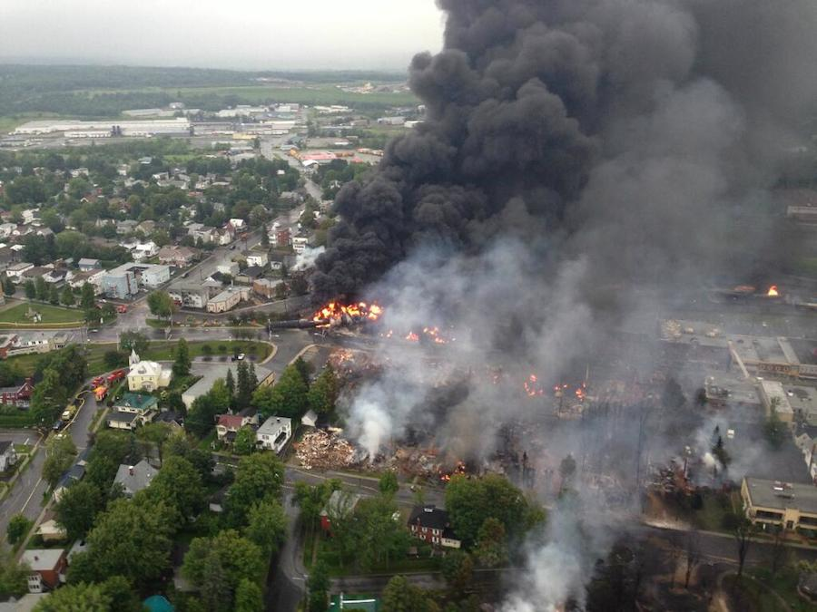 Lac-Mégantic oil train disaster has awakened the public to the dangers of moving oil by trains - but can it lead to the end of oil trains?