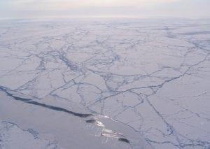 NASA overflight of Arctic Sea Ice