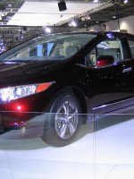 Hond'a FCX Clarity hydrogen fuel cell powered car