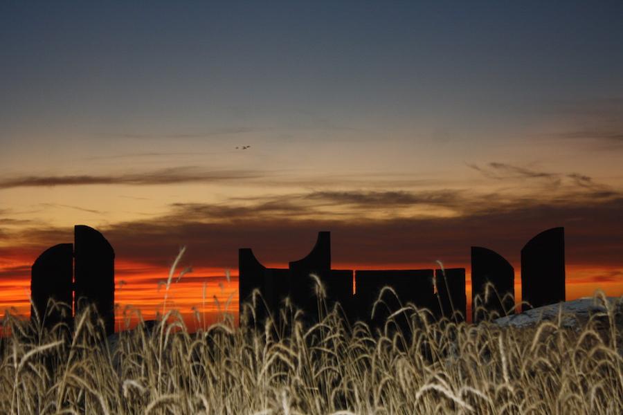The open land and big sky of North Dakota