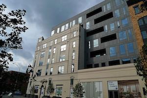 The LEED certified Garden Street Lofts in Hoboken,  New Jersey. And example of green building