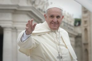 Pope Francis delivers his Encyclical on climate change