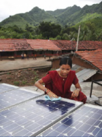 India village rooftop solar