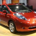 The Nissan Leaf Electric Car