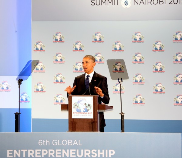 Obama speaks at GES 2015