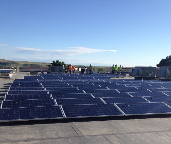 Wiser Capital rooftop solar installation