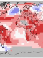 August 2015 follows a string of heat records as climate moves into uncharted territory