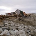 Alaska permafrost thaw house_over