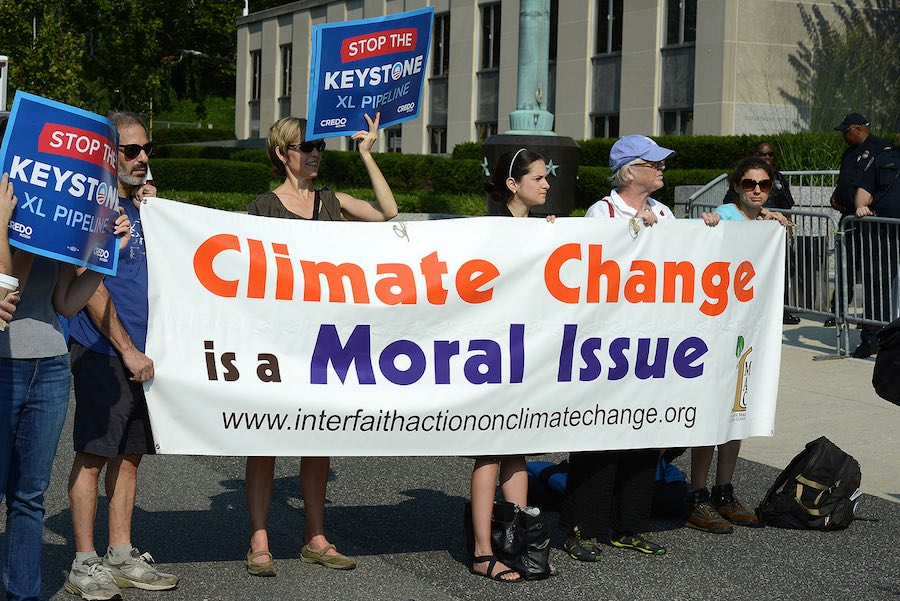 Will the moral imperative of climate finally emerge as a political issue?