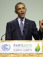 Obama gives a moving address at the opening of COP21