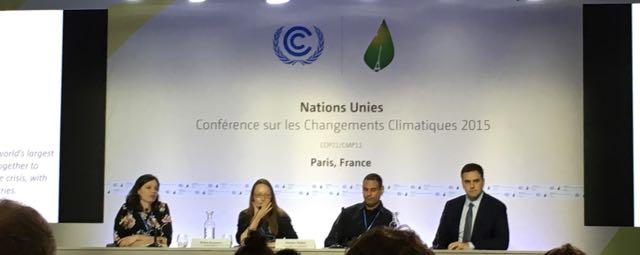 Progress continues on draft text at COP21