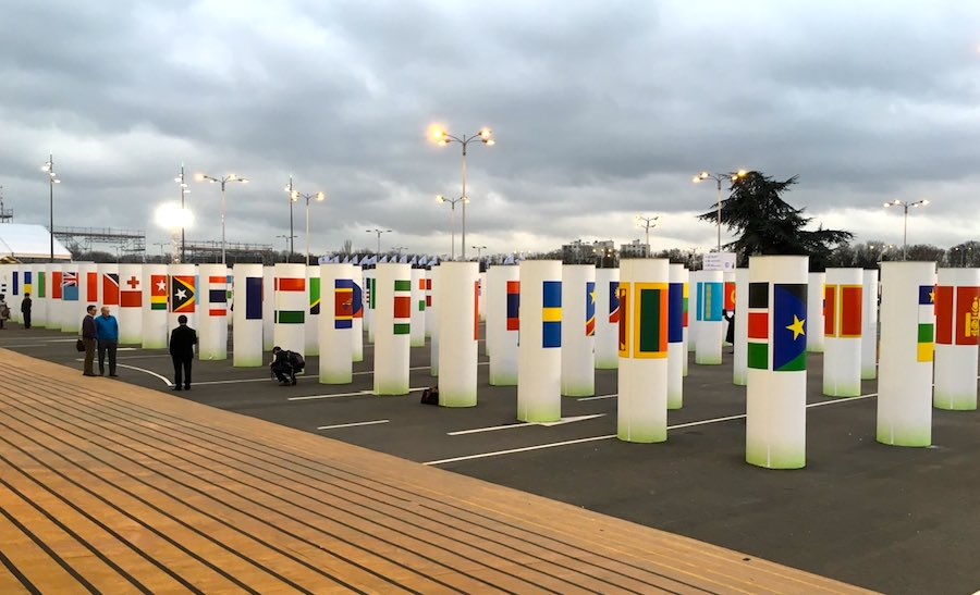 Nations at COP21: Credibility of INDCs