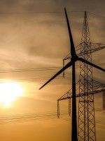 A big year for renewables. Two-thirds of new generating capacity from renewable energy