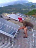 Nepal solar microgrid Gham Power
