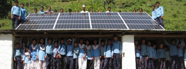 Nepal solar storage microgrid Gham Power