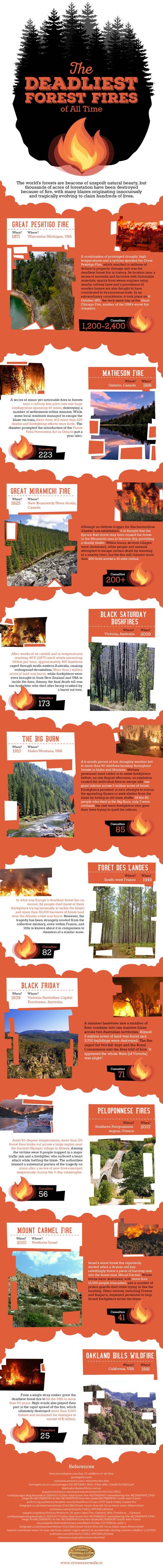 Deadliest Forest Fires