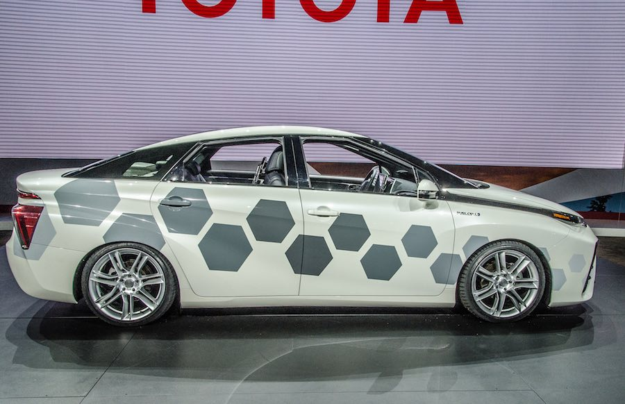 Toyota's Mirai Hydrogen Car