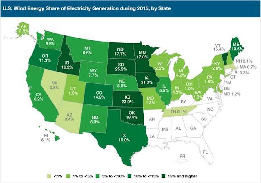 China Cuts Coal; US Wind Power Reaches New Heights