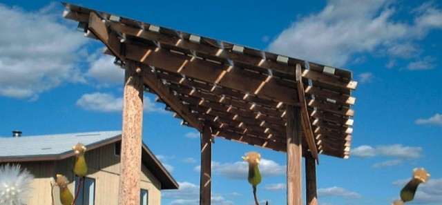 Solar power for native American home