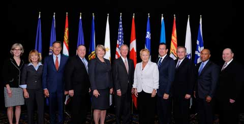 Governors take charge on climate change action