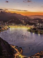 Copacabana Beach, Rio de Janeiro, Brazil - home of the 2016 summer olympics